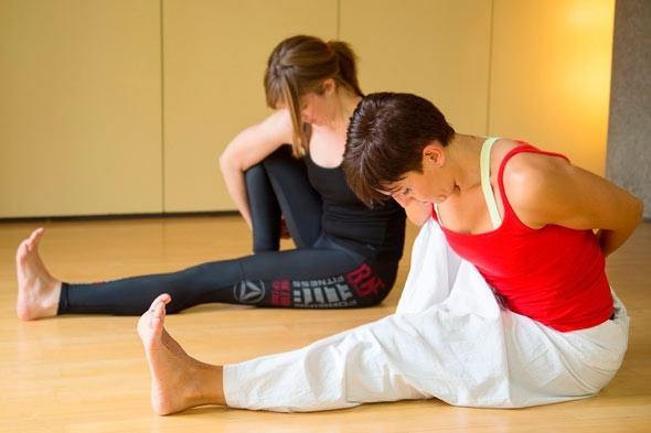 Clases de Yoga, Aiguajoc Sant Antoni