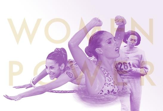 Imagen poder de chicas en el deporte