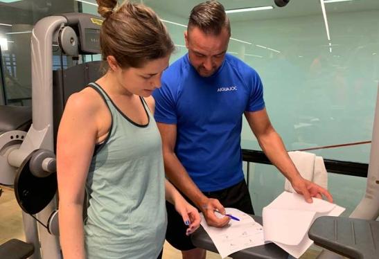 entrenamiento personalizado en Aiguajoc