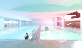 nova piscina aiguajoc