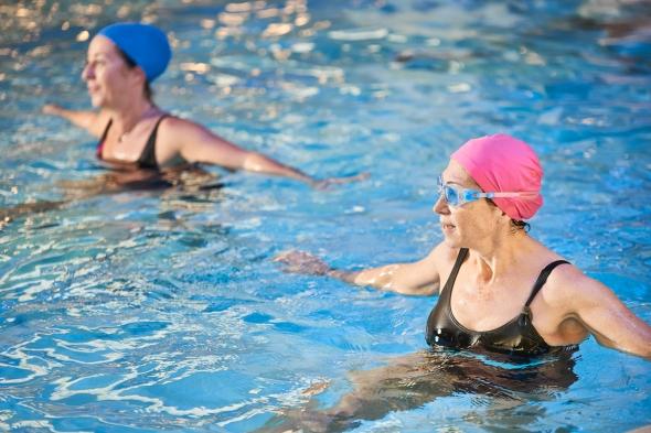 ejercicios en el agua aquactiva't