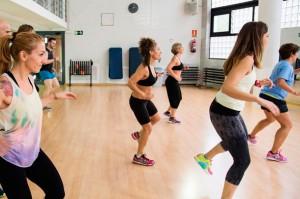 Zumba en Sant Antoni, Aiguajoc fitness