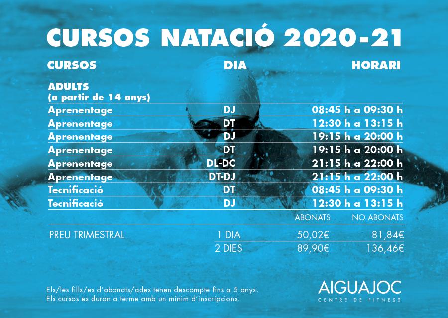 Clases de Natación Barcelona