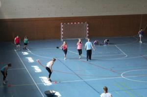 deportes en pabellón