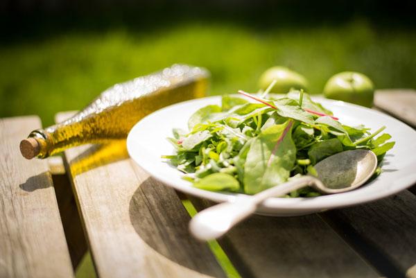 Comida sana este verano con aiguajoc