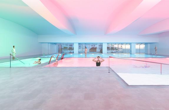 nueva piscina aiguajoc
