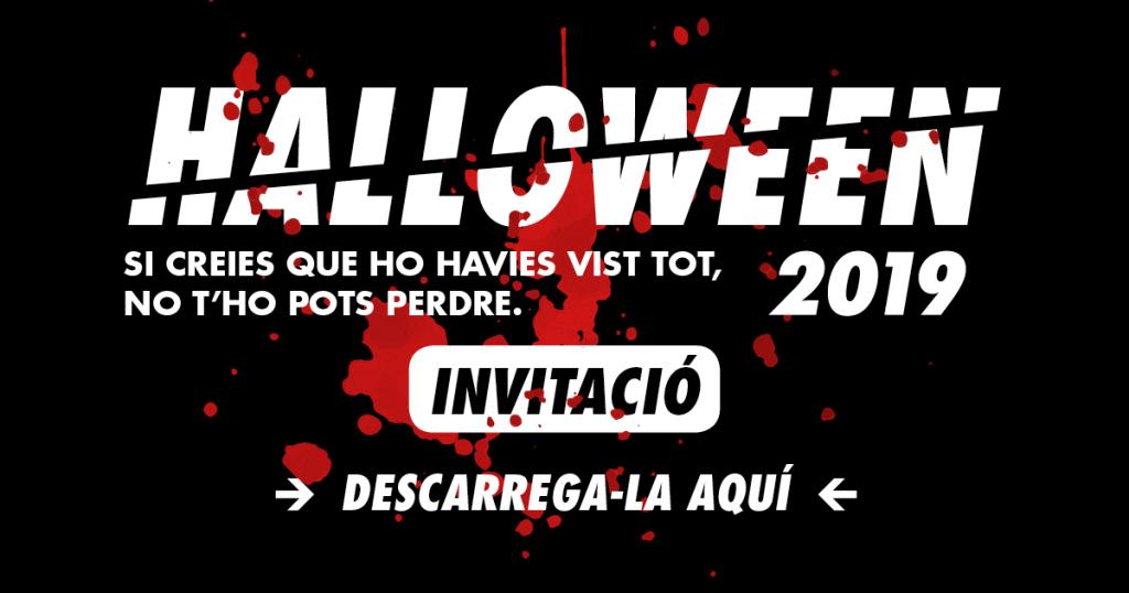 invitació halloween 2019