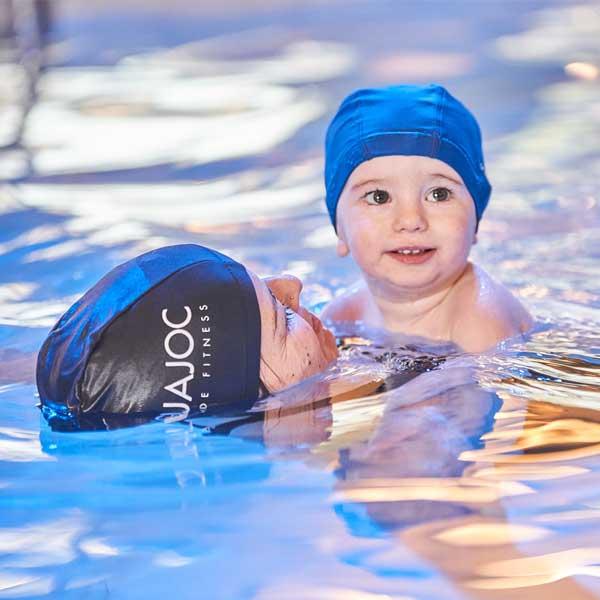 natación para bebés en aiguajoc