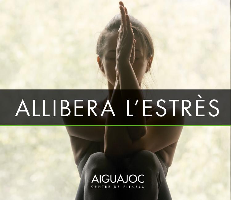 Allibera l'estrès amb ioga
